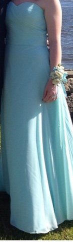 Light Blue Ball Gown in Camp Lejeune, North Carolina