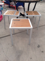 Patio tables in 29 Palms, California
