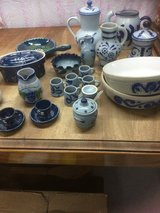 French Poterie and poterie Blue white in Ramstein, Germany
