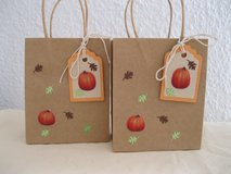SALE Fall Gift - Favor Bags Handmade By Me 4.5 x 5.5 inches 3 Available in Ramstein, Germany