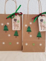 SALE - Christmas Gift -Favor Bags Handmade 3 Available in Ramstein, Germany