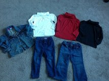 Baby Gap Tops & Jeans pants + Jacket 18-24 months in Fort Campbell, Kentucky