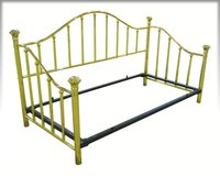 Brass Daybed with accessories in New Lenox, Illinois