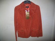 NEW Dennis Basso Suede Motorcycle or dress Jacket womans XS in Bolingbrook, Illinois