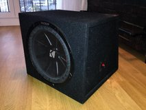 "12"" Kicker Comp R Subwoofer with Box in Stuttgart, GE"