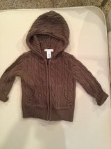 Old Navy sweater hoodie...size 12-18 months in Yorkville, Illinois