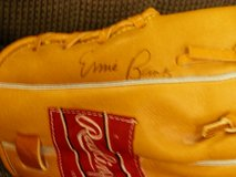 Ernie Banks Autographed Baseball Glove - Great Christmas Present!! in Lockport, Illinois