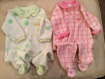 Bon bebe footed pajamas...size large in Naperville, Illinois