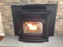 Great Condition Harman Pellet Insert Fireplace Stove in Alamogordo, New Mexico