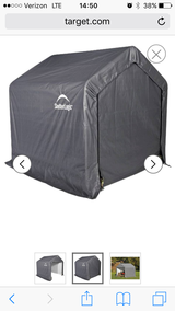Shelterlogic portable tent in Montgomery, Alabama
