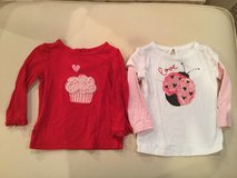 babyGap long sleeve tops...size 12-18 months in Yorkville, Illinois