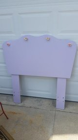 Lavender / Butterfly Twin Headboard in Fort Campbell, Kentucky