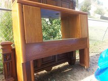 Broyhill queen/ full headboard and frame in Fort Riley, Kansas