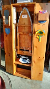 Ironing board cabinet - great Christmas present in Fort Riley, Kansas