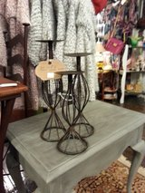 CANDLE STANDS set of 3 in Elgin, Illinois