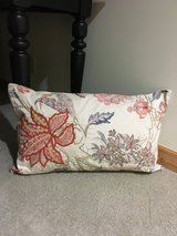 Pottery Barn Lumbar Pillow and Embroidered Pillow Case in Okinawa, Japan