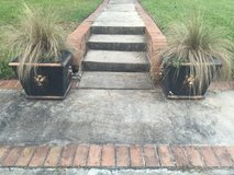 Pair of Concrete Planter in Kingwood, Texas