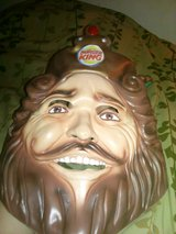 Burger King Mask in Alamogordo, New Mexico