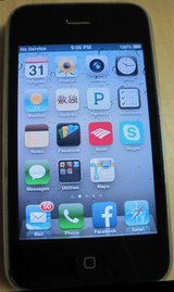 Apple iPhone 3GS, AT&T, 8GB, EXCELLENT condition, black, with box and accessories in Kingwood, Texas