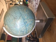 World globe in Temecula, California