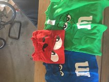 3 M & M shirts in Oceanside, California