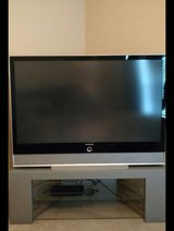 Panasonic Dlp 62 inch TV & Stand in Tyndall AFB, Florida