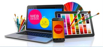 1 Page Fully Responsive Website $125.00 in Conroe, Texas