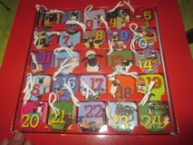 Advent calendar (Shaun) with 24 little books inside in Ramstein, Germany