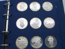 45,7oz sterling silver medals in Ramstein, Germany