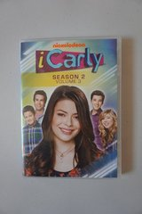 Nickelodeon iCarly Season 2 DVDs in Lockport, Illinois