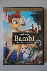 Walt Disney's Bambi 2-Disc Special Edition Platinum Edition DVDs in Plainfield, Illinois