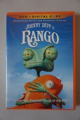 Rango DVD + Digital Copy in Lockport, Illinois
