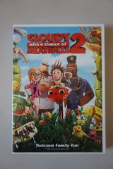 Cloudy with a Chance of Meatballs 2 DVD in Lockport, Illinois