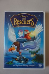 Disney's The Rescuers DVD in Lockport, Illinois