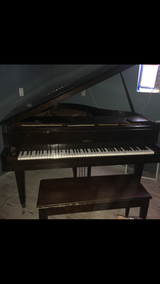 Schaff Bros grand piano in Houston, Texas