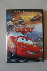 Disney Pixar Cars DVD in Oswego, Illinois