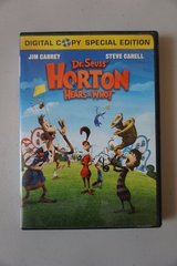 Dr. Seuss' Horton Hears a Who! DVD + Digital Copy Special Edition in Lockport, Illinois
