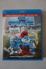 The Smurfs 3-Disc Holiday Blu-Ray + DVD in Lockport, Illinois