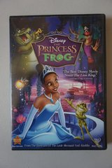 Disney The Princess and the Frog DVD in Lockport, Illinois