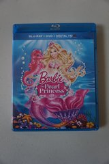 Barbie the Pearl Princess Blu-Ray + DVD + Digitial HD Copy in Oswego, Illinois