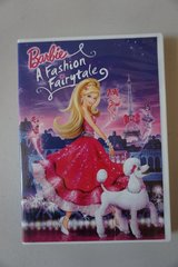 Barbie A Fashion Fairytale DVD in Oswego, Illinois