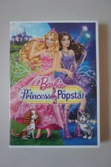 Barbie The Princess & The Popstar DVD in Oswego, Illinois