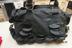 Trendy Black Purse From Charming Charlie's - Gently Used in Houston, Texas