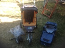 TFK Jogger/City Stroller with babycot in Alamogordo, New Mexico
