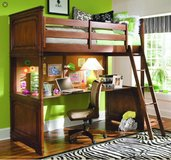 Lea Elite Loft Bed Full Size in Kansas City, Missouri