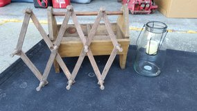 Rustic tote, wall hander, & candle holder in Morris, Illinois