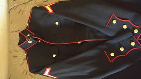 Blues coat 39R in Camp Pendleton, California