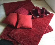 Red Rug Set in Ramstein, Germany