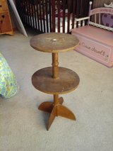 Antique telephone table in Fort Polk, Louisiana