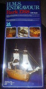 H.M.S. Endeavour Wooden Ship Model Kit in Fort Bliss, Texas